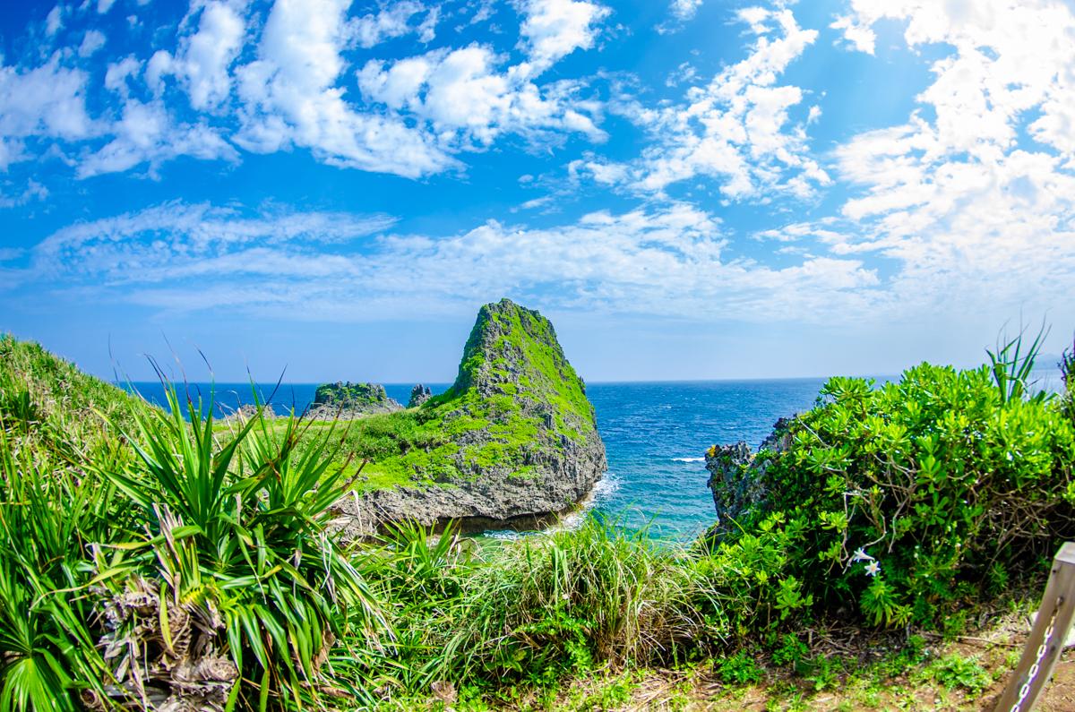 沖縄 真栄田岬/青の洞窟 2ビーチ