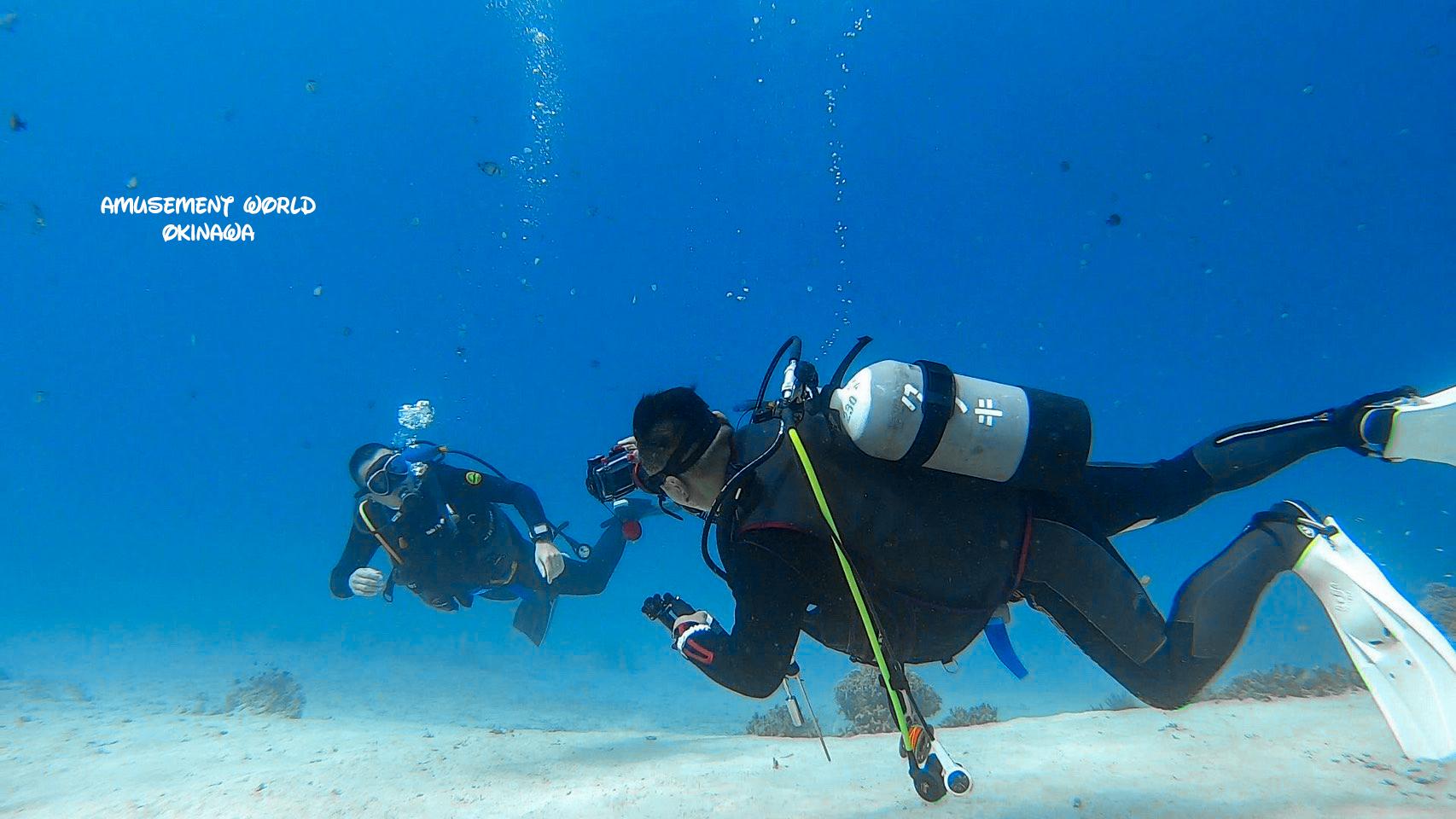 ダイビングライセンス講習!熱い2月の沖縄恩納村