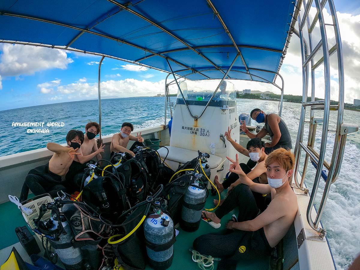 沖縄 恩納村青の洞窟で体験ダイビング!
